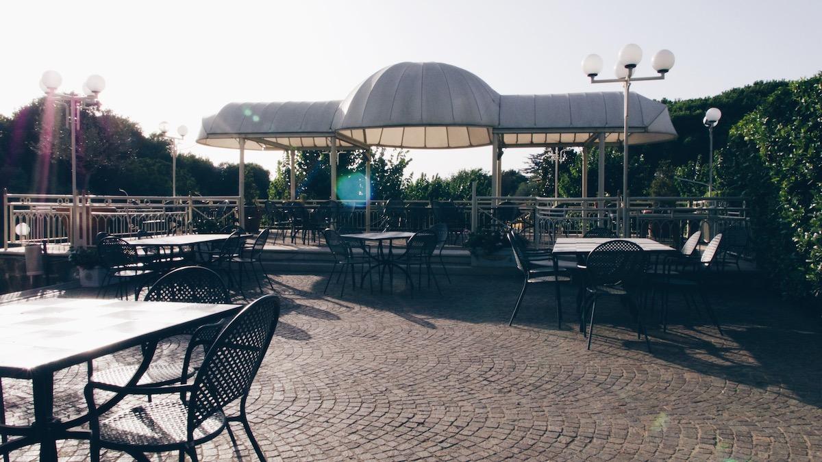 Location Tiffany terrazza